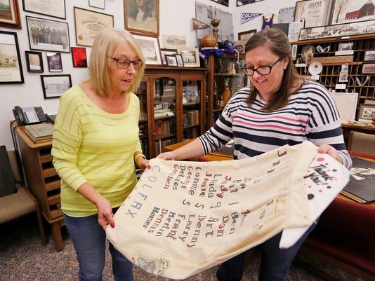 LAF bangert col colfax history association effort