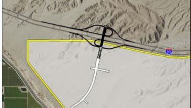 An Interstate 10 interchange project is proposed for Avenue 50 in Coachella. The plan was recently approved in an environmental impact study.