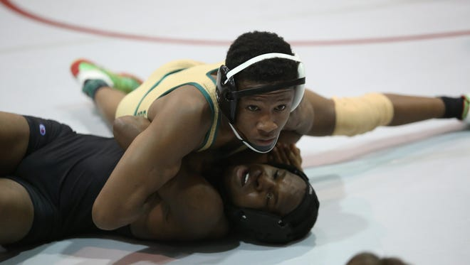 Lincoln senior Sean Hendley, who won a district title last week at Chiles with a pin, captured his first regional title on Saturday at the same place.