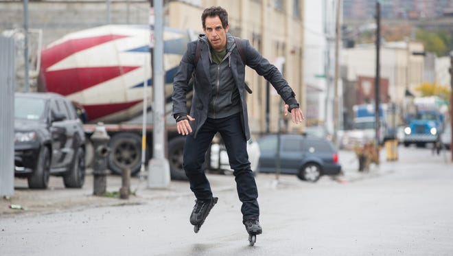 "Ben Stiller's charaacter, Josh Srebnick, tries to stay maintain his youth while approaching 50 in ""While We're Young."""