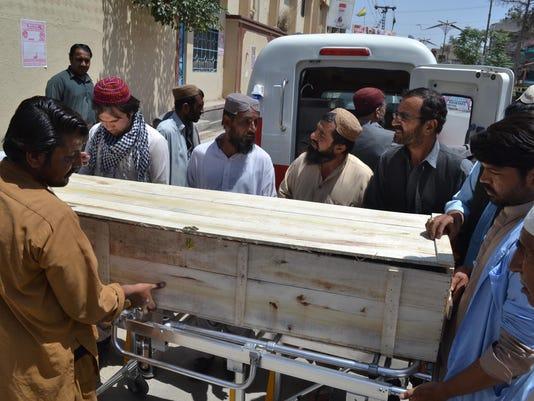 Pakistan Afghanistan Taliban Leader Death