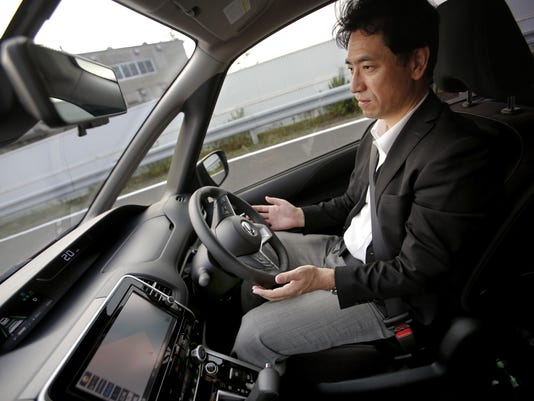 Japan Self Driving Car