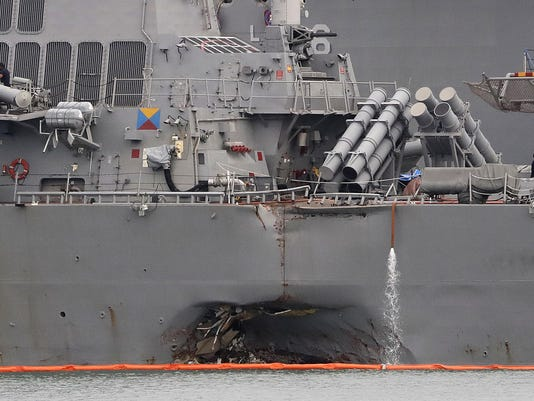 US Navy Preventing Collisions