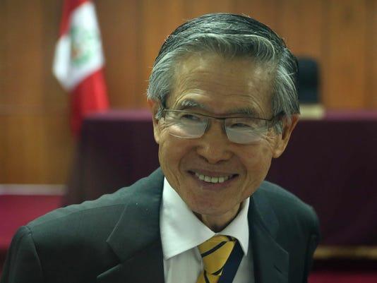 Peru President Kuczynski grants humanitarian pardon to former president Alberto Fujimori