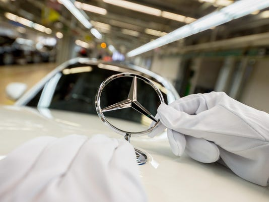 Mercedes-Benz Production At Daimler Sindelfingen Plant
