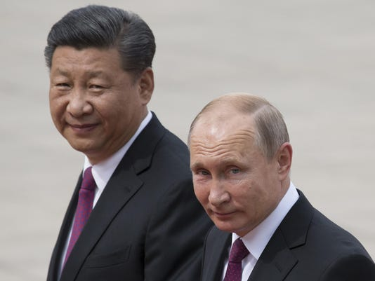Vladimir Putin,Xi Jinping