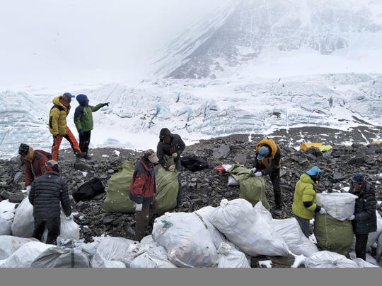 China Everest Fewer Climbers