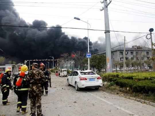 China Chemical Plant Blast