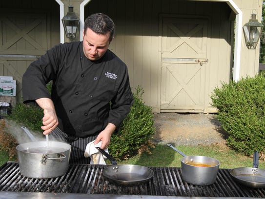 Corporate Chef Kevin Felice of 40 North Restaurants
