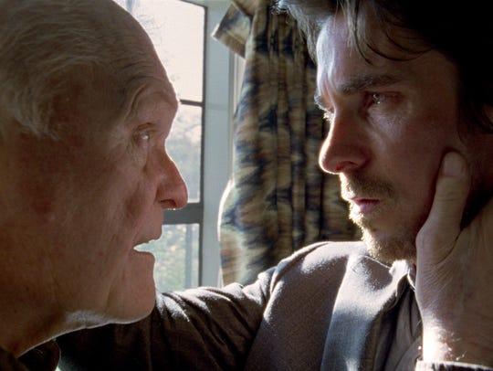 Brian Dennehy plays father to Christian Bale's character
