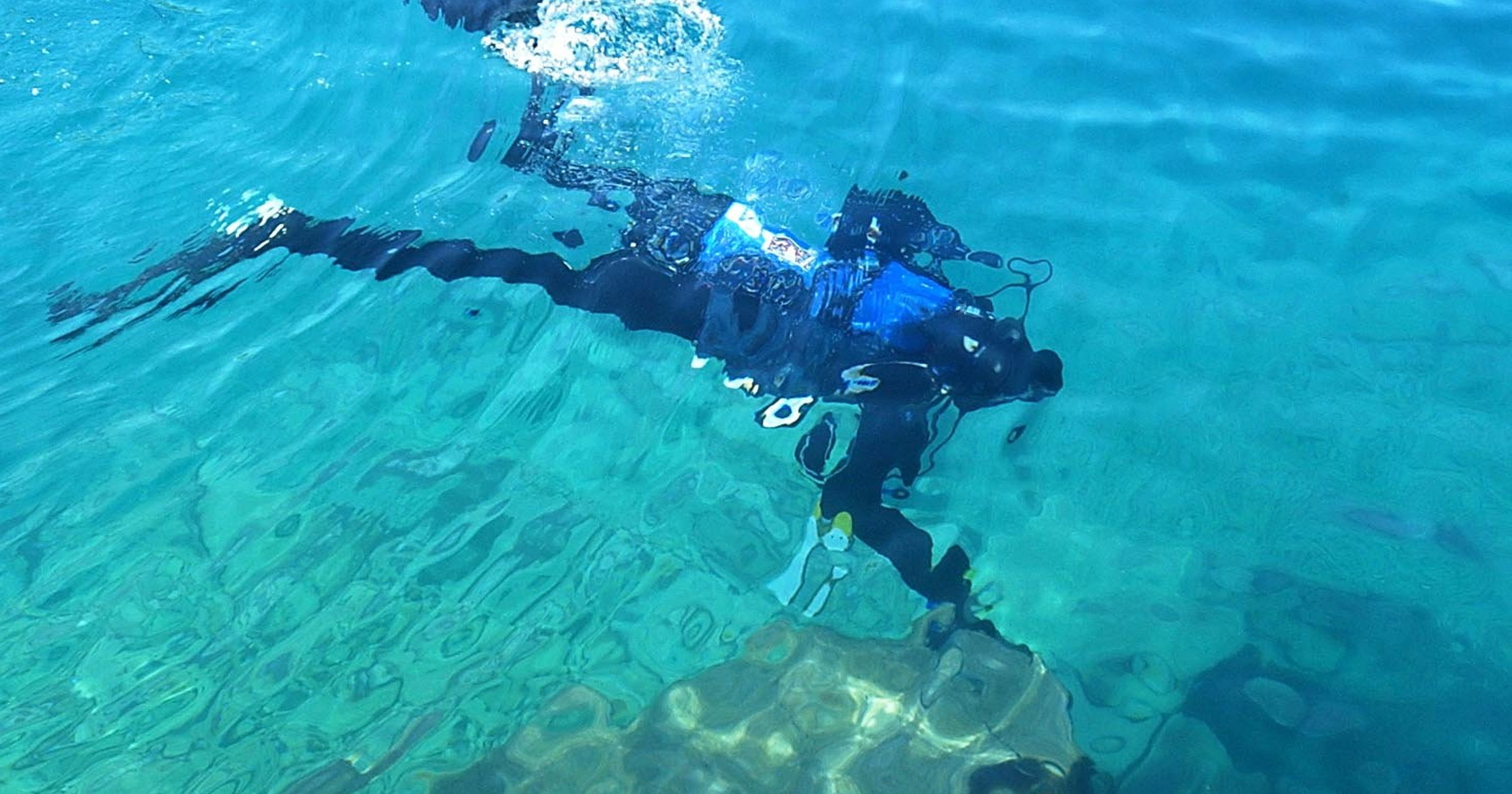 Scuba divers death caused by pre-existing heart condition