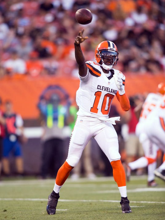 Robert Griffin Iii Browns Preseason