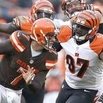 Cincinnati Bengals defensive tackle Geno Atkins has been a force for the top scoring defense in football.