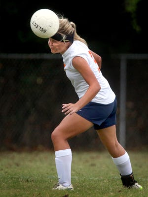 Blackman's Kenzi Vetter is one of the top returning soccer players in the area this season.