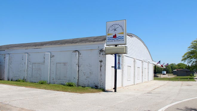 The community hangar at Park Township Airport pictured on Tuesday, June 2, 2020.