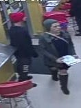Police say this man and woman are suspected of stealing a tip jar at Primo Water Ice in Westmont.