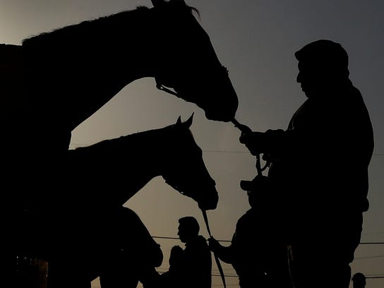 The 144th running of the Kentucky Derby is scheduled for Saturday, May 5.