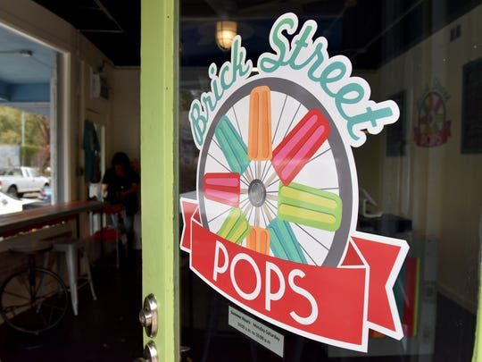 The new Brick Street Pops is at the corner of Leake and Monroe streets in Clinton.