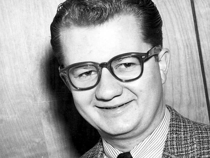 Jan. 27, 1966: Al McCoy, sports director of KOOL radio.