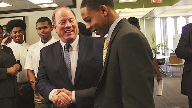 Incumbent Mike Duggan released Thursday a new ad that focuses on the mayor's efforts to rebuild the city.