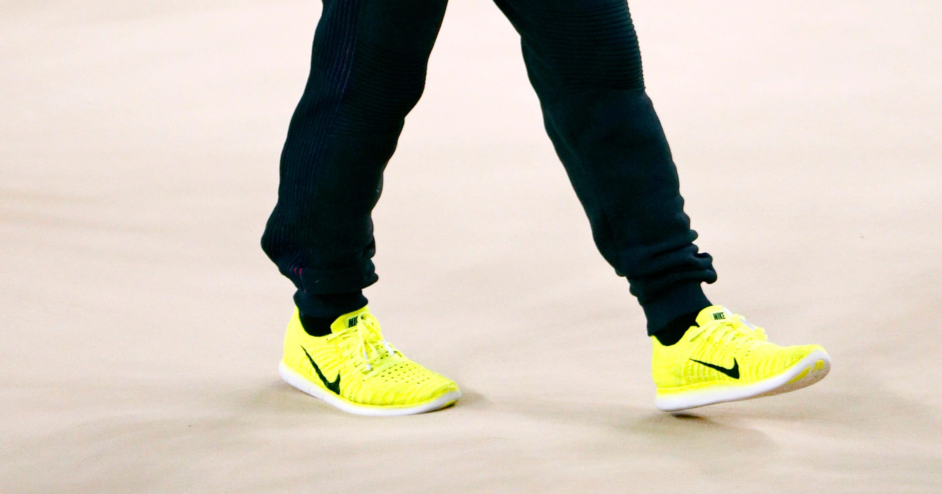 3973d96c957f Gymnasts like eye-catching Nike podium shoes