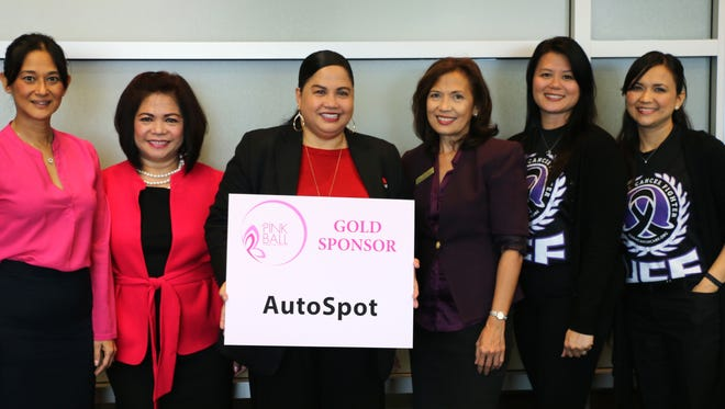 Guam AutoSpot is a gold sponsor for the Pink Ball taking place Saturday at the Hyatt Regency Guam.