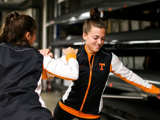 "Nicole Chojnacky tried for the Tennessee rowing team ""on a whim"" in 2014 despite having no knowledge of the sport."