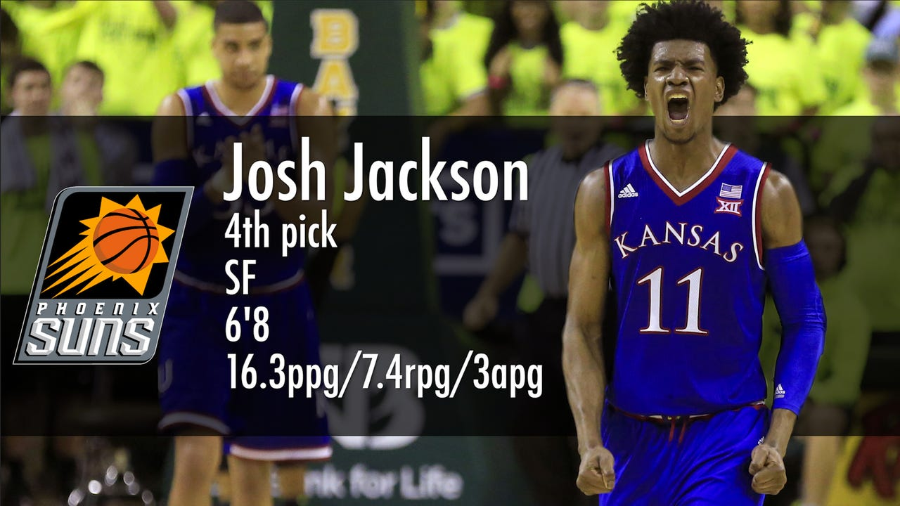 Josh Jackson brings athleticism and defense and Haller and Bordow talk fit and excitement from Talking Stick Arena.