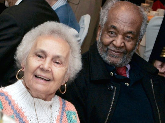 Dr. Edmund Gordon and his wife, Susan, married in 1948, 19 years before the Supreme Court legalized interracial marriage nationwide.