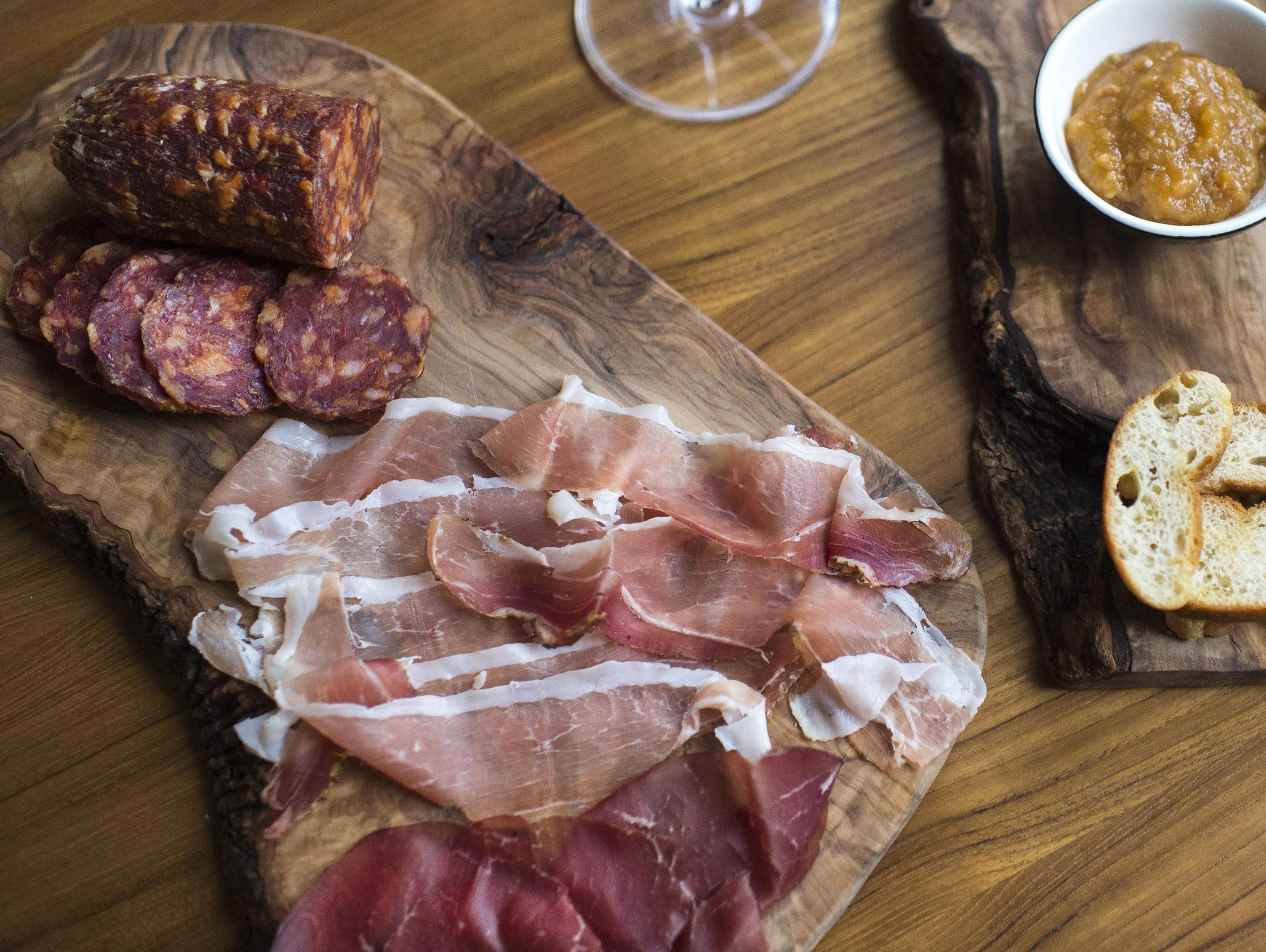 Cheese and charcuterie from Jockey Hollow.
