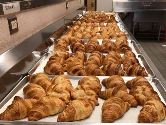 Croissants from Little Gourmand.