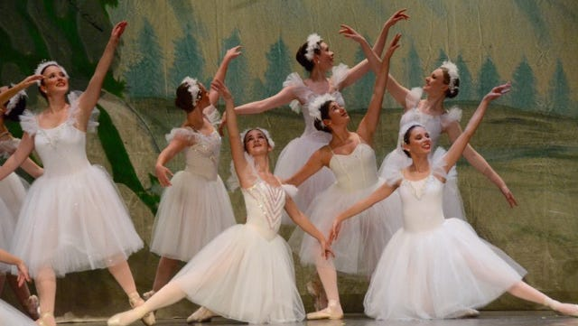 "Sussex Ballet Company dancers perform ""The Nutcracker."""