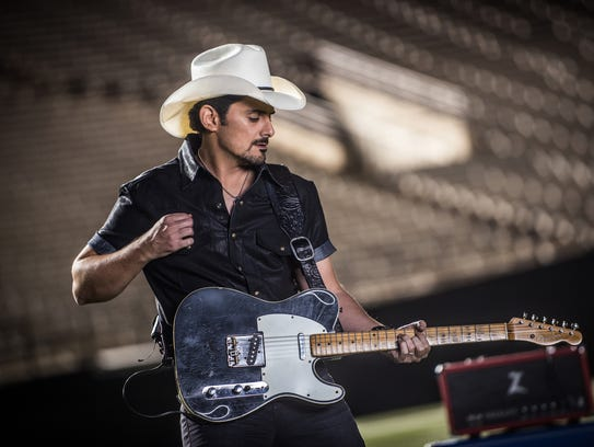 Brad Paisley is coming to the KFC Yum Center March