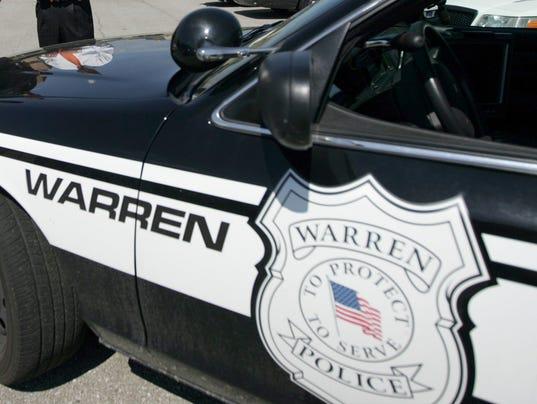 stock-Warren Police car