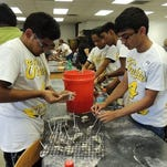 Volunteers lend their time for last year's Knights Give Back event.