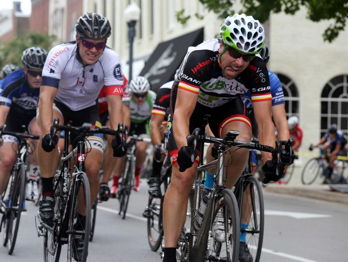 Scenes from the 2014 MOAB Tennessee State Championship Criterium bicycle race Sunday, July 20, 2014.
