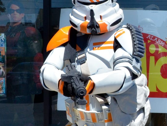Members of the 501st Legion's Parjai Squad, the local