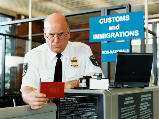 Americans out of the country when their passports are