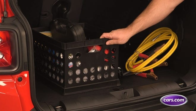 What to keep in a winter emergency kit in your car.
