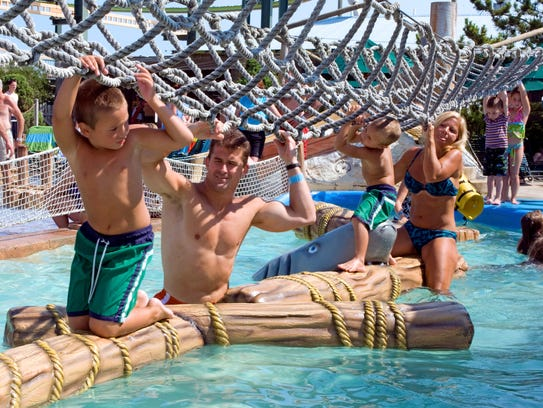 Camp Kidtastrophe at Morey's Raging Waters water park.
