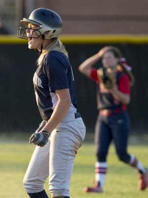 Karli Ricketts of Decatur Central struck out eight Roncalli batters Friday in Decatur Central's 1-0 victory.