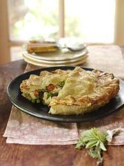 Chicken pot pie from Griggstown Farm.