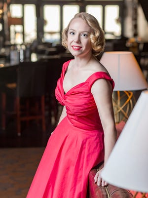 "Kim Schroeder Long stars in the Carnegie's production of ""Tenderly: The Rosemary Clooney Musical."" Written by Janet Yates Vogt and Mark Friedman, the show chronicles the tumultuous and memorable career of singer/actress Rosemary Clooney."
