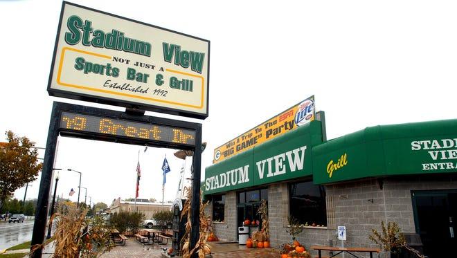 The Stadium View Sports Bar & Grill on Holmgren.