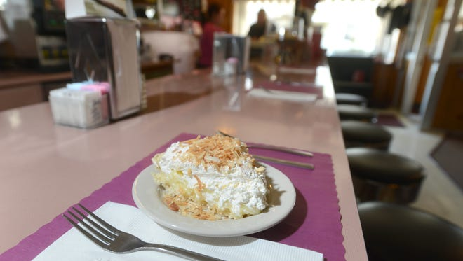 The coconut cream pie is the most popular of Nichol's Family Restaurant's many pies. The popular diner is on Putnam Avenue in Zanesville.