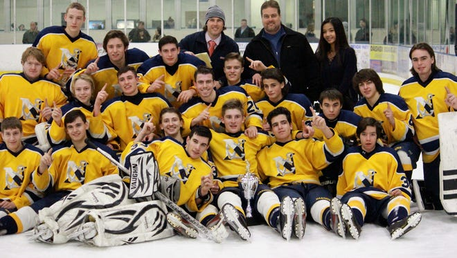 Toms River North celebrates its third Toms River Mayor's Cup Championship in the last four years.