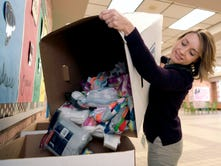 Franklin volunteers to deliver essential items to students