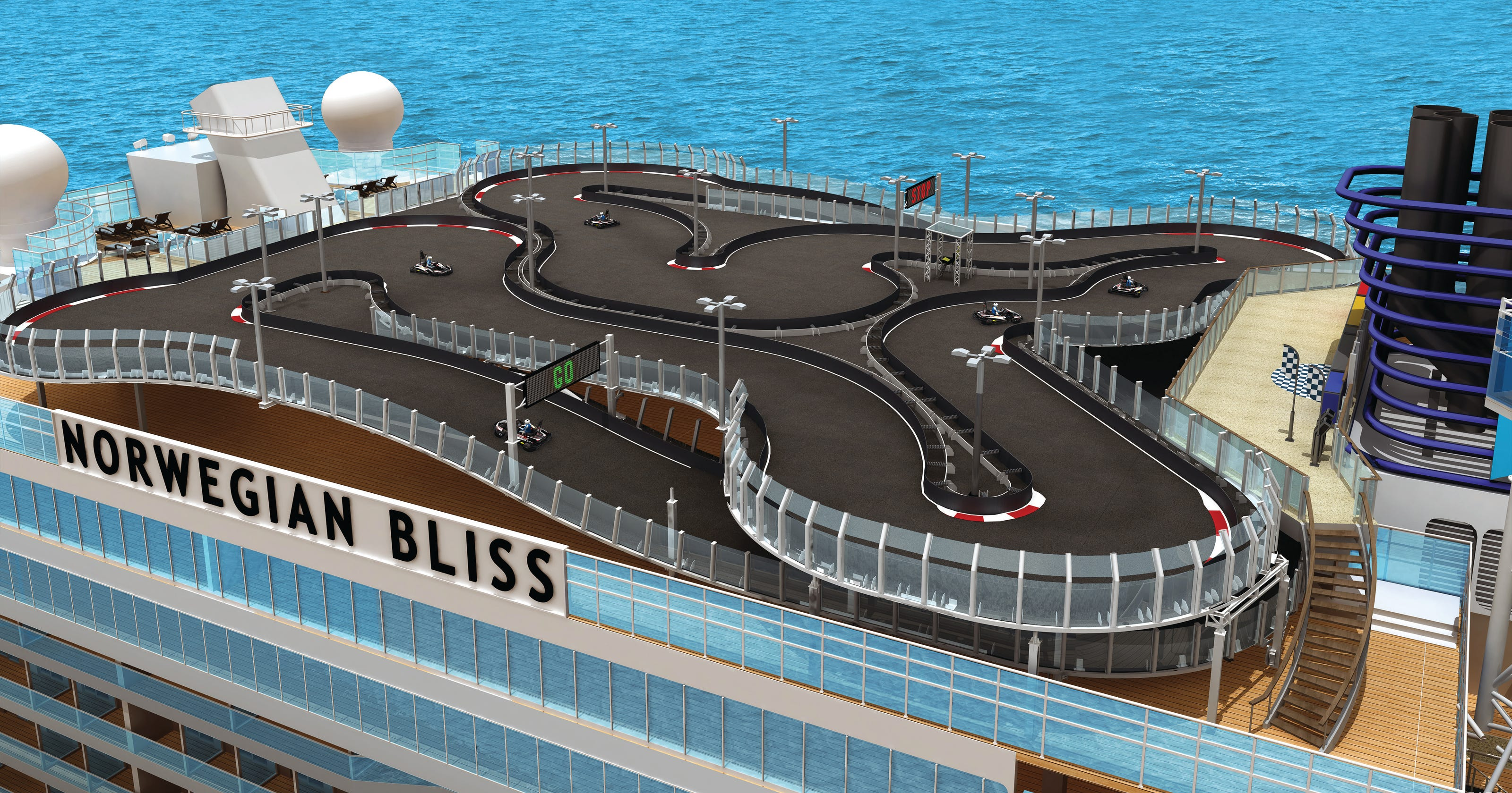 Norwegian Cruise Line Reveals Plans For New Ship Bliss