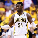 Roy Hibbert is determined to return to dominant defensive form after a perceived down season precipitated his departure from Indiana.