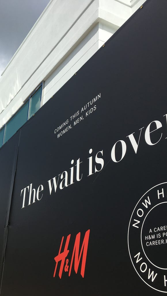 H&M's first Montgomery location will open in September.